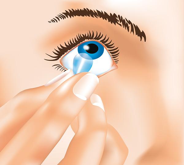 Kontaktlinsen Herausnehmen 3