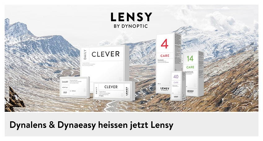 Lensy - Schweizer Kontaktlinsen top Qualität - Linsenkontakt AG