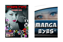 Fashion-/Motiv-Kontaktlinsen