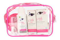 Pink Lady Augen- und Kontaktlinsenpflege