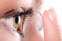 Weiche Kontaktlinsen