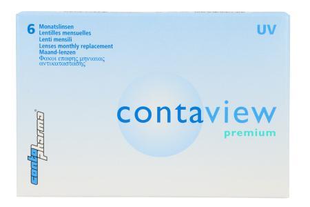 Contaview premium UV, 6 Stück Kontaktlinsen von Contopharma