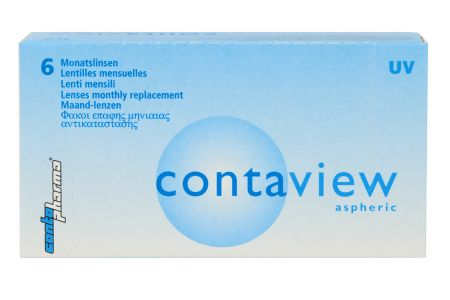 Contaview aspheric UV 6 Monatslinsen | Contaview aspheric UV, 6 Stück Kontaktlinsen, Contaviewaspheric UV (6er), Contaview aspheric, Contaview