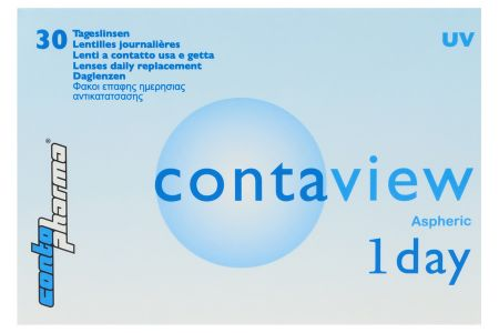 Contaview aspheric 1day UV 30 Tageslinsen