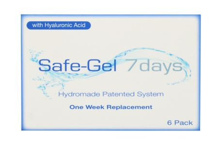 Safe-Gel 7days 6 Wochenlinsen | Safe-Gel 7days, 6 Stück, SafeGel 7days (6er), SafeGel7days, 7days, 7Tage, Sauflon