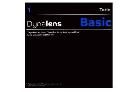 Dynalens 1 Basic Toric 90 Tageslinsen | Dynalens 1Day Toric (90er), Dynalens1DayToric, Dynlens1DayToric, Dynalens One Day Toric, Dynoptic