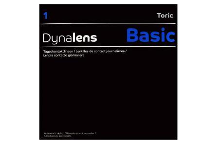 Dynalens 1 Basic Toric 90 Tageslinsen