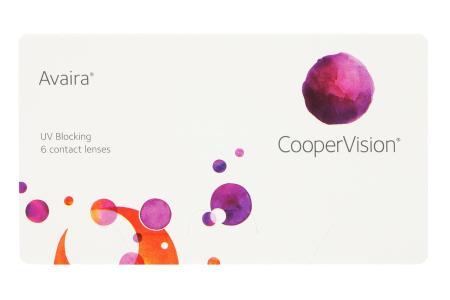 Avaira Vitality, 6 Stück Kontaktlinsen von Cooper Vision