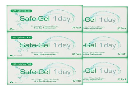 Safe-Gel 1 day, Sparpaket 3 Monate 2x90 Stück