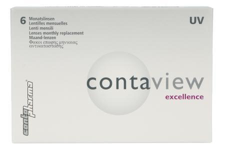 Contaview excellence UV, 6 Stück Kontaktlinsen von Contopharma