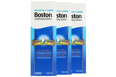 Boston Advance 3 x 120 ml Aufbewahrungslösung | Boston Advance Aufbewahrungslösung 3 x 120 ml, Boston Advance Solution, Boston Solution, Boston