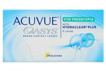 Acuvue Oasys for Presbyopia 6 Zwei-Wochenlinsen | Acuvue Oasys for Presbyopia, 6 Stück
