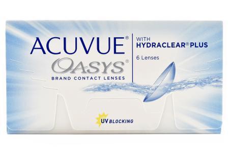 Acuvue Oasys, 6 Stück Kontaktlinsen von Johnson & Johnson
