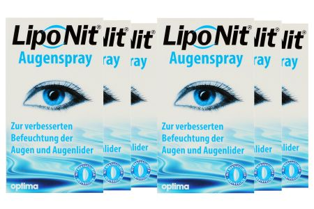 LipoNit 6 x 10 ml Augenspray | LipoNit Augenspray 6 x 10 ml, LipoNit Spray, LipoNit Benetzung, LipoNit