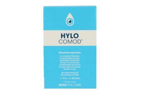 Hylo-Comod Augentropfen 2x10ml