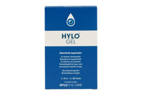 Hylo-Gel Augentropfen 2x10ml
