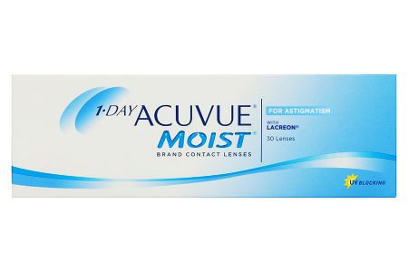 1-Day Acuvue Moist for Astigmatism, 30 Stück Kontaktlinsen von Johnson & Johnson
