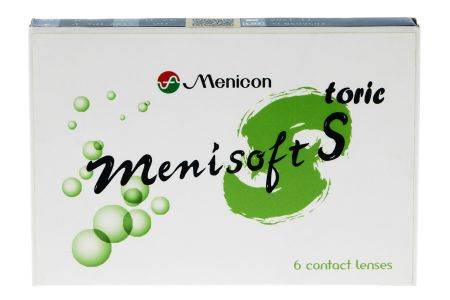 Menisoft S toric 6 Zwei-Wochenlinsen | Menicon PremiO toric, 6 Stück, menicon premiOtoric, menicon toric, premenicon toric, nanogloss, menisilk