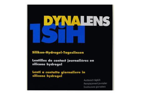 Dynalens 1 SiH, 90 Stück Kontaktlinsen von Dynoptic