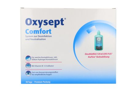 Oxysept Comfort 3x300ml/90Tabletten