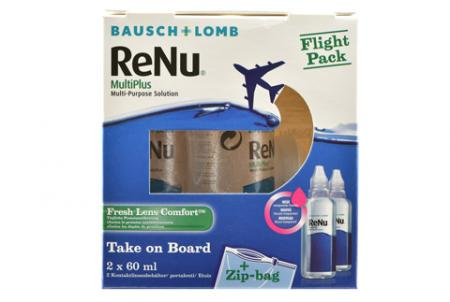 ReNu Multiplus Flight Pack 2 x 60 ml All-in-One Lösung