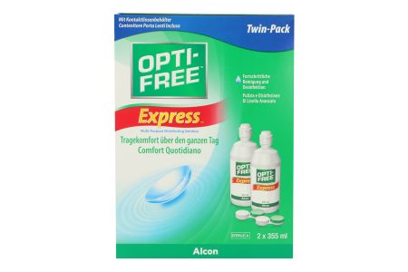 Opti-Free Express Doppelpack 2 x 355 ml All-in-One Lösung