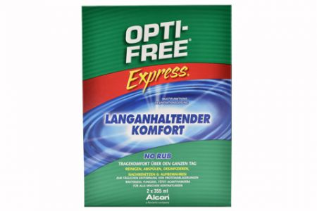 Opti-Free Express Doppelpack 2 x 355 ml All-in-One Lösung   Opti-Free Express 2 x 355 ml