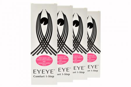 Eyeye Comfort 1-Step 4x360ml/180Tabletten