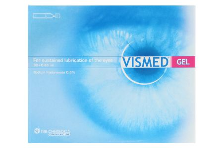 Vismed gel 60 x 0,45 ml Augentropfen