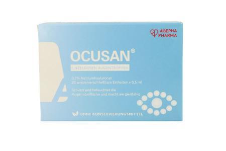 Ocusan 20 x 0,5 ml Augentropfen | Ocusan 20 x 0,5 ml in Einmaldosen