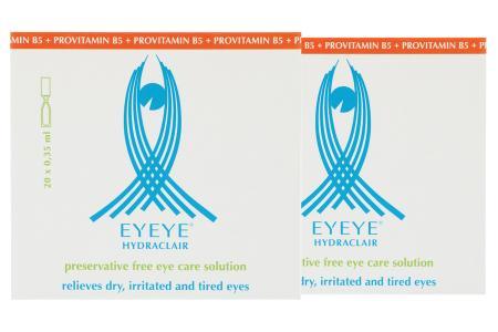 Eyeye Hydraclair 40x0,35ml Ampullen