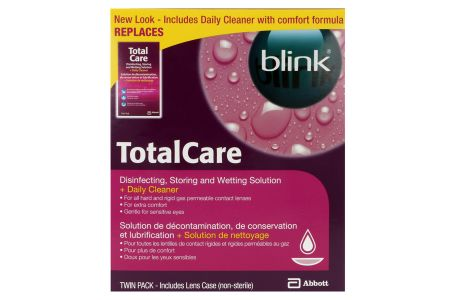 Total Care Twin Pack, 2x120ml Aufbewahrung, 2x30ml Reiniger