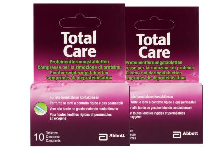Total Care Proteinentfernung 2x10 Tabletten