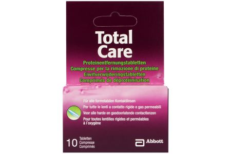 Total Care 10 Proteinentfernungs-Tabletten | Total Care Proteinentfernung 10 Tabletten