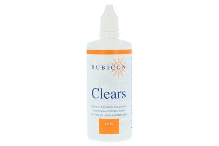 Clears 125 ml Reinigungs- und Aufbewahrungslösung | Clears Reinigungs-/Aufbewahrungslösung 125 ml