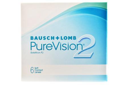 Pure Vision 2 HD, 6 Stück Kontaktlinsen von Bausch & Lomb