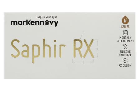 Saphir Rx Monthly Spheric, 3 Stück