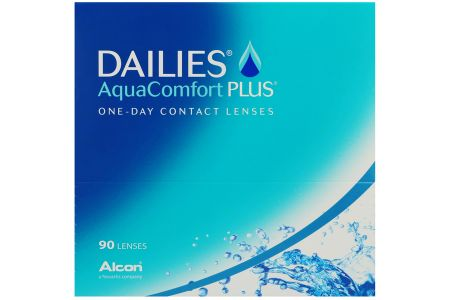 Dailies AquaComfort Plus, 90 Stück Kontaktlinsen von Ciba Vision / Alcon