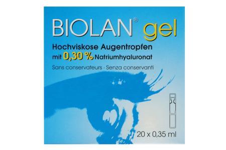 Biolan gel 20x0.35ml Augentropfen