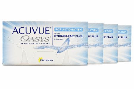 Acuvue Oasys for Astigmatism 4 x 6 Zwei-Wochenlinsen | Acuvue Oasys for Astigmatism, 4 x 6 Stück Acuvue Oasys Torisch, Oasys Torisch, Oasys Astigmatism, Acuvue