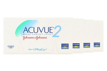Acuvue 2 4 x 6 Zwei-Wochenlinsen