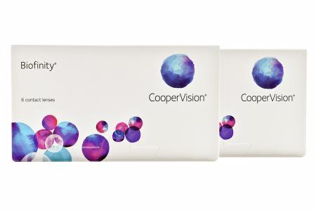 Biofinity, 2 x 6 Stück Kontaktlinsen von Cooper Vision