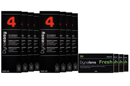 Jahres-Sparpaket, Dynalens 30 Fresh - Dynaeasy 4