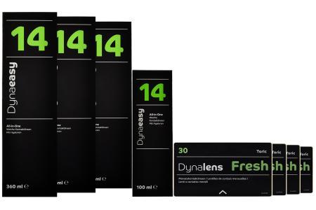 Halbjahres-Sparpaket, Dynalens Fresh Toric - Dynaeasy 14