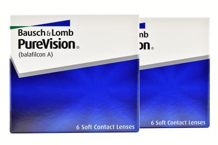 Pure Vision, 2 x 6 Stück Kontaktlinsen von Bausch & Lomb