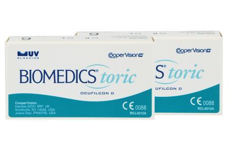 Biomedics Toric 2 x 6 Monatslinsen | Biomedics Toric, 2 x 6 Stück Kontaktlinsen von Cooper Vision, BiomedicsToric (2x6er), Biomedics Torisch, Biomedics Tori