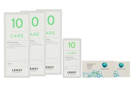 Biomedics 55 2 x 6 Monatslinsen + Lensy Care 10 Halbjahres-Sparpaket