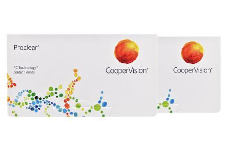 Proclear, 2 x 6 Stück Kontaktlinsen von Cooper Vision