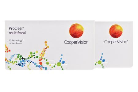 Proclear Multifocal, 2 x 6 Stück Kontaktlinsen von Cooper Vision