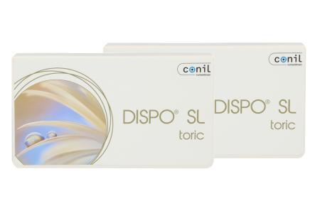 Dispo SL Toric, 2 x 6 Stück Kontaktlinsen von Conil